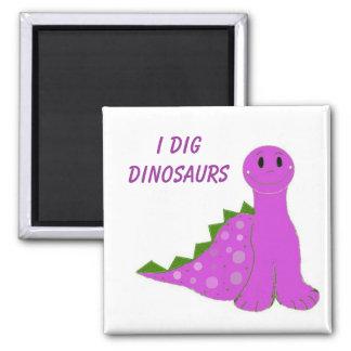 Cavo dinosaurios imán para frigorifico