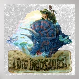 Cavo dinosaurios póster