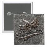 Cavo el cráneo del Triceratops de los dinosaurios Pins