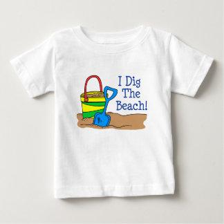 Cavo la playa playera de bebé