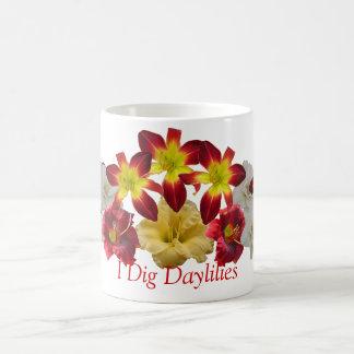 Cavo la taza de los Daylilies