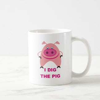 Cavo la taza del cerdo