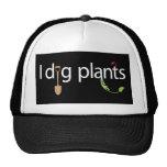 Cavo las plantas gorras