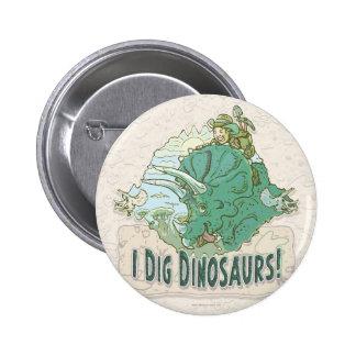 Cavo los dinosaurios para los cazadores del dinosa pins