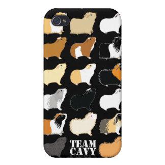 CAVY DEL EQUIPO iPhone 4 PROTECTOR