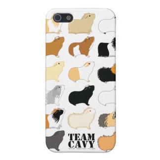 CAVY DEL EQUIPO iPhone 5 CARCASAS