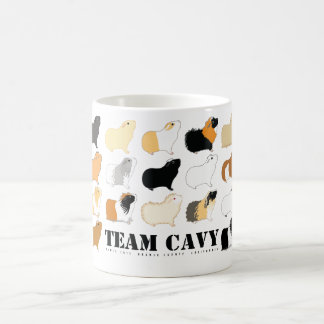 CAVY DEL EQUIPO TAZA DE CAFÉ