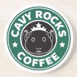 Cavy Rocks Coffee Coasters 敷物