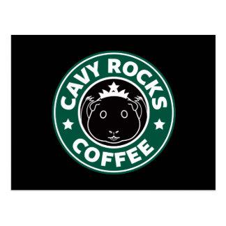 Cavy Rocks Coffee Postcard