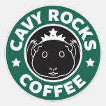 Cavy Rocks Coffee Sticker