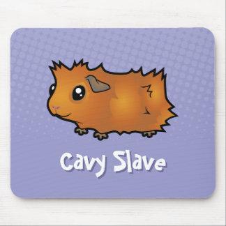 Cavy Slave (scruffy) Mouse Pad