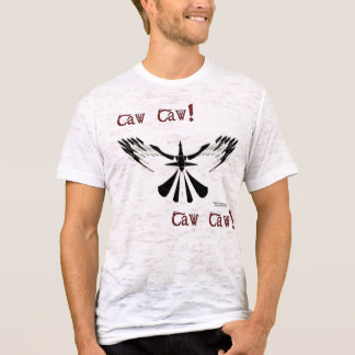 Caw Caw Men's Burnout Shirt