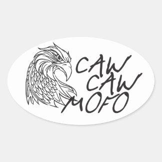Caw Caw Oval Sticker