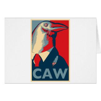 Caw Felicitación
