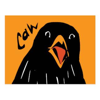 Caw! Postcard