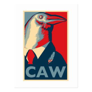 Caw Tarjeta Postal