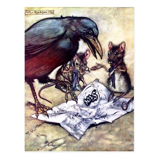 Caw y ayudantes de Solomon Postales