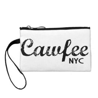 Cawfee NYC funny wristlet purse