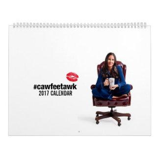 #cawfeetawk 2017 Calendar
