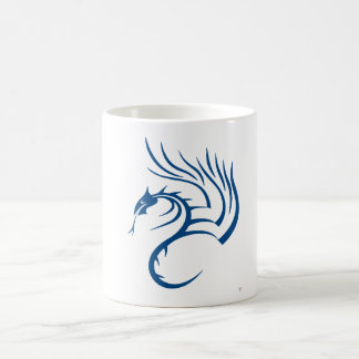 Cawthorne el dragón azul taza de café