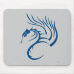 Cawthorne the Blue Dragon Mouse Pad