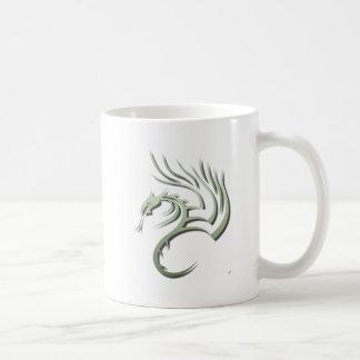 Cawthorne the Metallic Green Dragon Coffee Mug