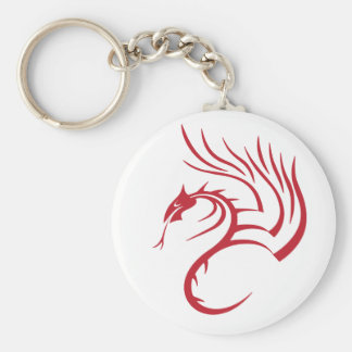 Cawthorne the Red Dragon Keychain
