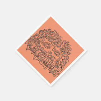 Caxton Dinner napkins