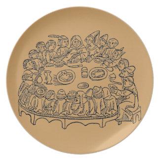 Caxton Dinner - plate