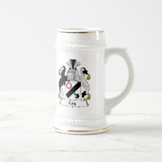Cay Family Crest Coffee Mugs