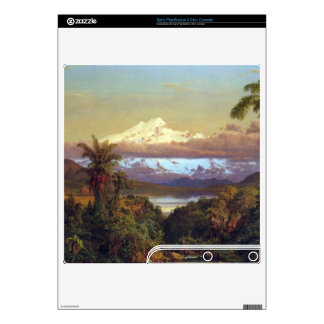 Cayambe, Ecuador by Frederic Edwin Church PS3 Slim Console Decals