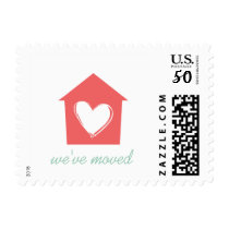 Cayenne House with Love We've Moved Postage