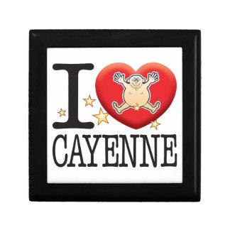 Cayenne Love Man Jewelry Box