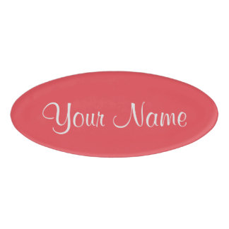 Cayenne Name Tag