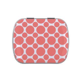 Cayenne Polka Dot 2 Jelly Belly Candy Tins