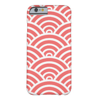 Cayenne & White Scallop Barely There iPhone 6 Case