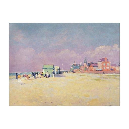 Cayeux-sur-Mer Canvas Print