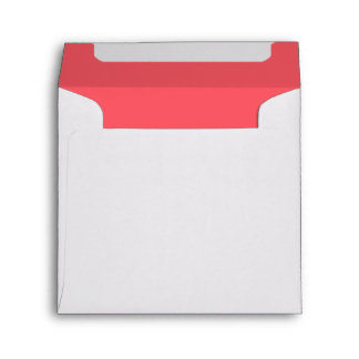 Cayman Coral-Peach-Melon-Pink Tropical Romance Envelope