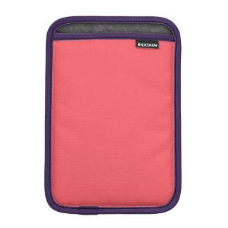 Cayman Coral-Peach-Melon-Pink Tropical Romance iPad Mini Sleeves