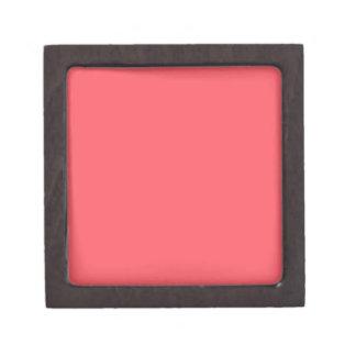 Cayman Coral-Peach-Melon-Pink Tropical Romance Keepsake Box