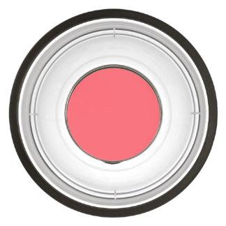 Cayman Coral-Peach-Melon-Pink Tropical Romance Pet Bowl