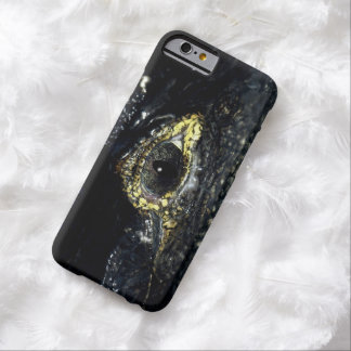 Cayman Crocodile Eyes Reptile Photo Barely There iPhone 6 Case