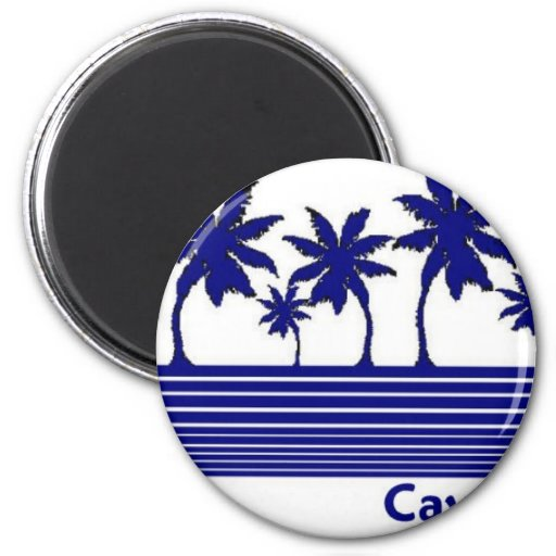 Cayman Islands 2 Inch Round Magnet