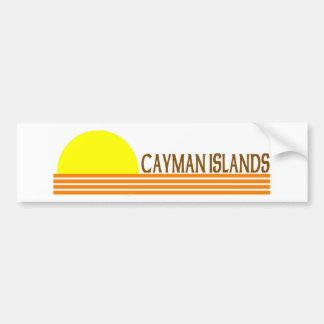 Cayman Islands Car Bumper Sticker