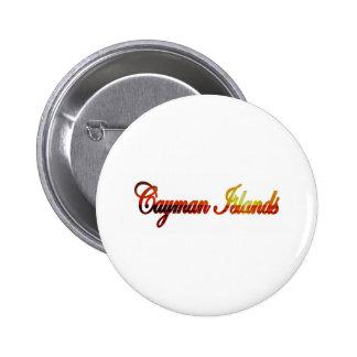 Cayman Islands Pinback Buttons