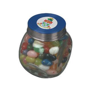 Cayman Islands Jelly Belly Candy Jar