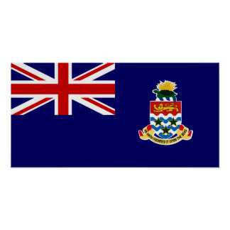 Cayman Islands – Caymanian Flag Poster