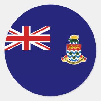 cayman islands classic round sticker