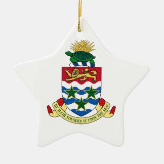 Cayman Islands Coat of Arms Ceramic Ornament