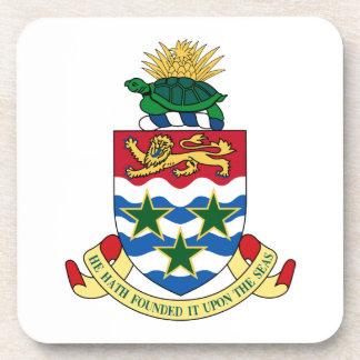Cayman Islands Coat of Arms Drink Coasters